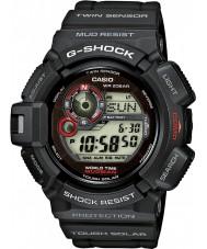 Casio G-9300-1ER メンズG-SHOCKツインセンサー太陽電池時計
