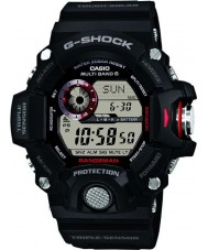 Casio GW-9400-1ER メンズG-SHOCKのプレミアムトリプルセンサー電波太陽電池時計