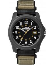 Timex T42571 メンズ黒キャンピングカー遠征時計