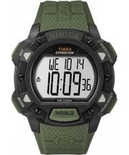 Timex TW4B09300 メンズ遠征緑色の樹脂ストラップ時計