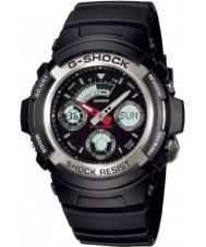 Casio AW-590-1AER メンズG-SHOCKのクロノグラフスポーツウォッチ