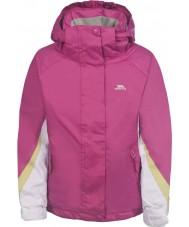 Trespass FCJKSKH20008-11-12 女の子アストリッドピンクのジャケット -  11-12年