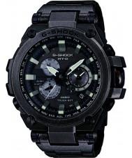 Casio MTG-S1000V-1AER メンズG-SHOCKラジオは太陽光発電の黒の時計をcontroled