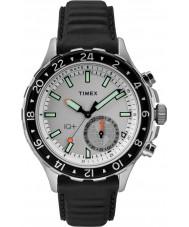 Timex TW2R39500 メンズiqスマートウォッチを移動