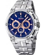 Festina F20327-4 メンズクロノオートバイ時計