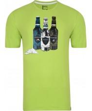 Dare2b メンズボトルライムグリーンTシャツ