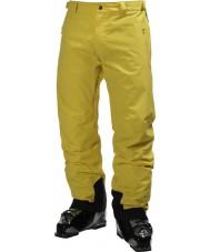 Helly Hansen メンズの伝説的な黄色のスキーパンツ