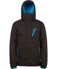 Protest 6710462-290-M メンズアベンジャー真の黒雪のジャケット - サイズm