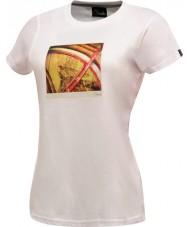 Dare2b レディースは2つの白いTシャツを取る