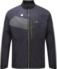 Ronhill RH-001895R848-L メンズvizion黒fluro黄色の輝きジャケット -  Lサイズ