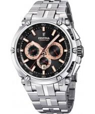 Festina F20327-8 メンズクロノオートバイ時計