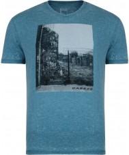 Dare2b メンズスナップショット海の深いmarlのTシャツ