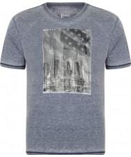 Dare2b メンズスナップショットピーコートマーシャルTシャツ