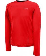 Dare2b メンズリレー激しい赤い長袖トップ