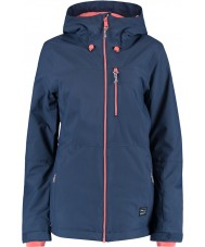 Oneill 655032-5032-L ソロレディース青い夜のジャケット -  Lサイズ