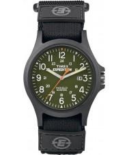 Timex TW4B00100 メンズ遠征キャンピングカーコアのブラックウォッチ