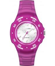 Timex TW5M06600 キッズマラソン紫色の樹脂ストラップ時計