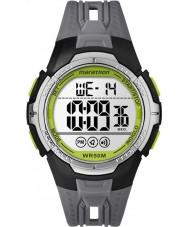 Timex TW5M06700 メンズマラソン黒色樹脂ストラップ時計