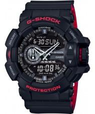 Casio GA-400HR-1AER メンズG-SHOCKワールドタイム黒コンビ腕時計