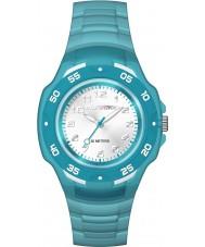 Timex TW5M06400 キッズマラソン青色の樹脂ストラップ時計