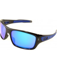 Oakley Oo9263-05タービン黒インク - サファイアイリジウムサングラス