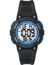Timex TW5K84800 デジタル半ばマラソン黒クロノグラフウォッチ