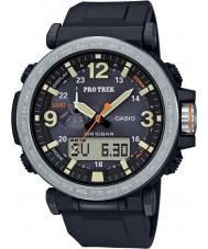 Casio PRG-600-1ER 黒デジタル時計をパワードメンズプロトレックソーラー