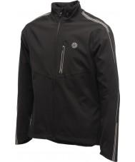 Dare2b DMW094-80040-XS メンズは、黒のジャケットを光っ - サイズXSを