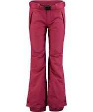 Oneill 658018-3049-XL レディース星情熱の赤スキーパンツ - サイズXL