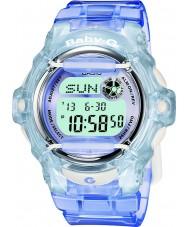 Casio BG-169R-6ER 25青のデジタル時計telememoレディースベビーG