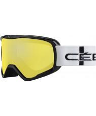 Cebe CBG50 ストライカーリットルオレンジ市松 - オレンジフラッシュミラースキー用ゴーグル
