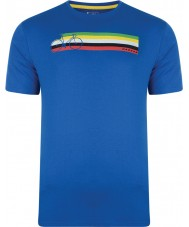 Dare2b DMT322-9PR40-XS メンズマルチバンドスカイダイバー、青Tシャツ - サイズXS