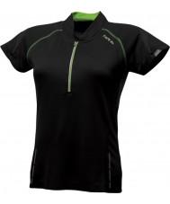Dare2b DWT078-80008L レディースリフレッシュ黒いジャージーTシャツ - サイズXXS(8)