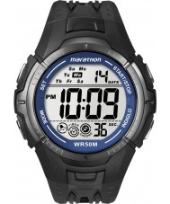 Timex T5K359 メンズ黒マラソンスポーツ時計