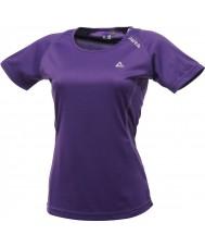 Dare2b レディースは紫色のTシャツを手に入れます