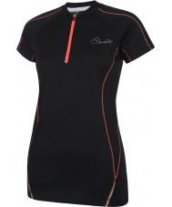 Dare2b DWT148-80008L 女性は黒のTシャツを楽しむ - サイズXXS(8)