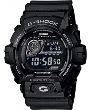 Casio GR-8900A-1ER メンズG-SHOCKワールドタイム黒い太陽電池時計
