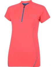 Dare2b レディースネオンピンクのTシャツrevel
