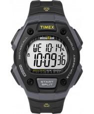 Timex TW5M09500 アイアンマン黒色樹脂ストラップ時計メンズ