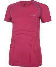 Dare2b 女性は電動ピンクのTシャツを慰める
