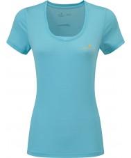Ronhill RH-002263Rh-00255-16 レディースは、熱意のSS Tシャツをまたぎます