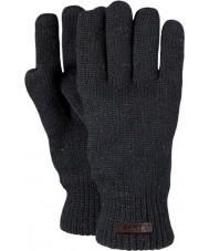 Barts Mens haakon黒い手袋