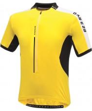 Dare2b DMT134-0QX40-XS メンズざわめい明るい黄色のジャージーTシャツ - サイズXS
