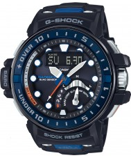 Casio GWN-Q1000-1AER メンズG-SHOCKのラジコン黒色樹脂ストラップ時計