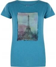 Dare2b エナメルブルーマーバルTシャツの上の女性の塔