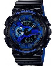 Casio GA-110LPA-1AER メンズG-SHOCKの世界の時間黒青樹脂ストラップ時計
