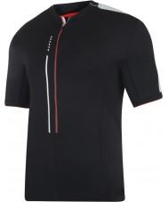 Dare2b DMT134-80040-XS メンズざわめい黒のジャージーのTシャツ - サイズXS