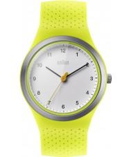 Braun BN0111WHGRL レディーススポーツ緑シリコーンストラップ時計