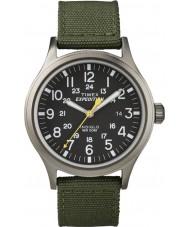 Timex T49961 メンズ遠征スカウト緑の時計