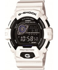 Casio GR-8900A-7ER メンズG-SHOCKワールドタイム白い太陽電池時計